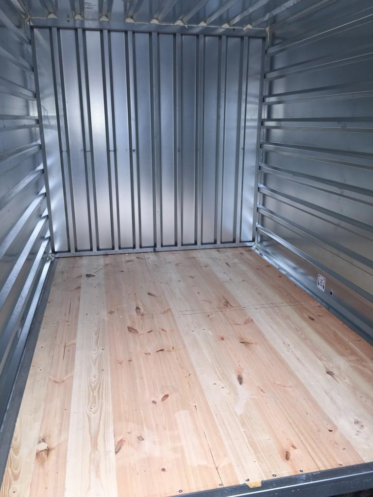 inside locker, storage unit, interior, example, self storage, container