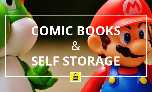 comic book storage, mario, yoshi