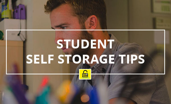 student storage tips, college, study
