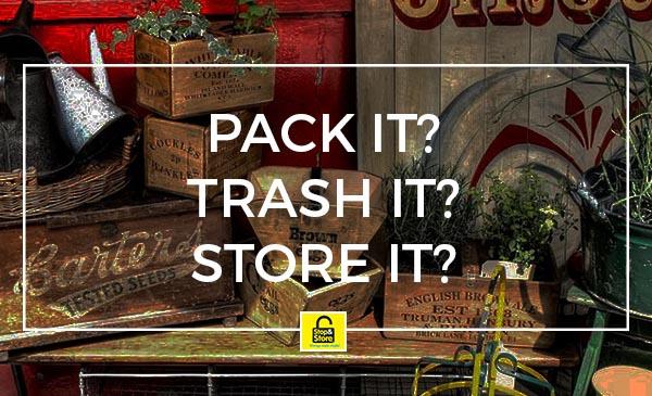 store it, trash, storage