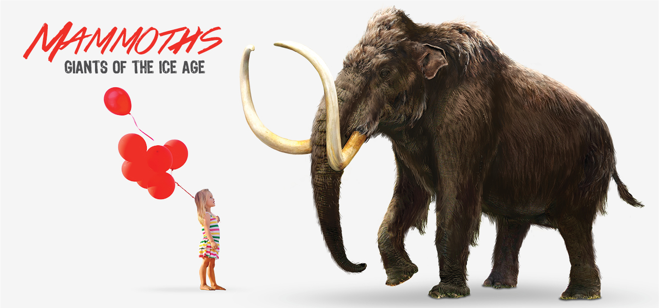 mammoths, ice age, storage, victoria, events
