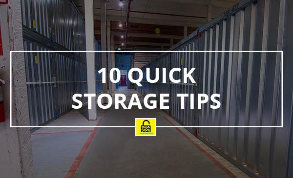 storage tips, quick