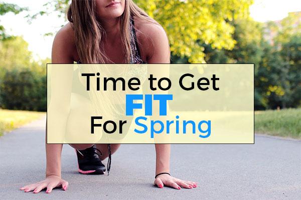 get fit, spring