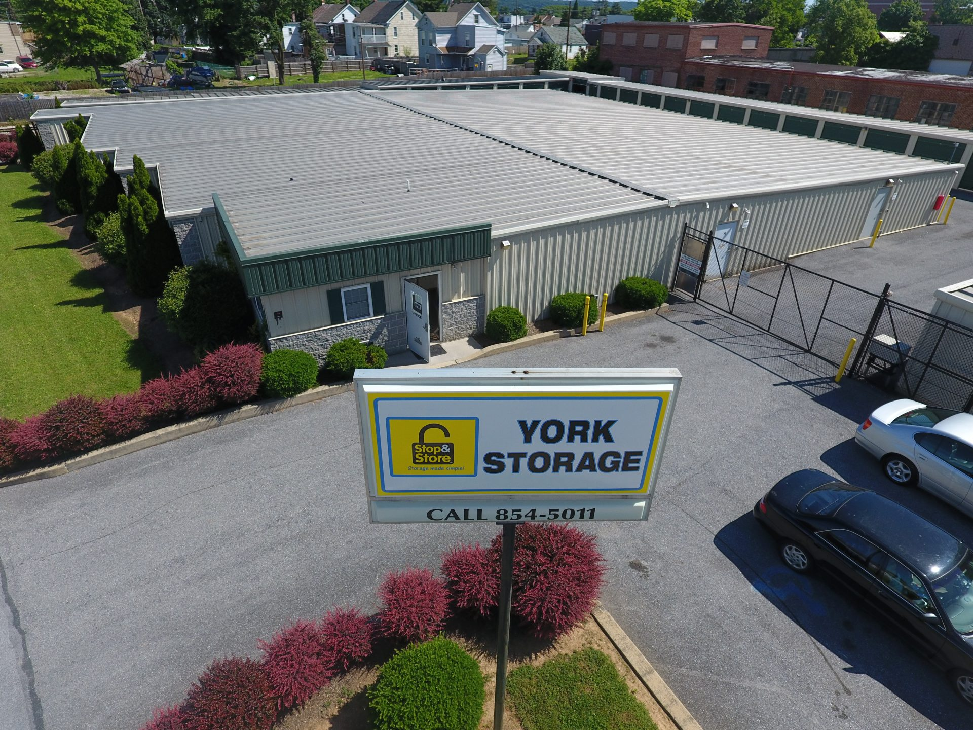 storage york, front, Arial