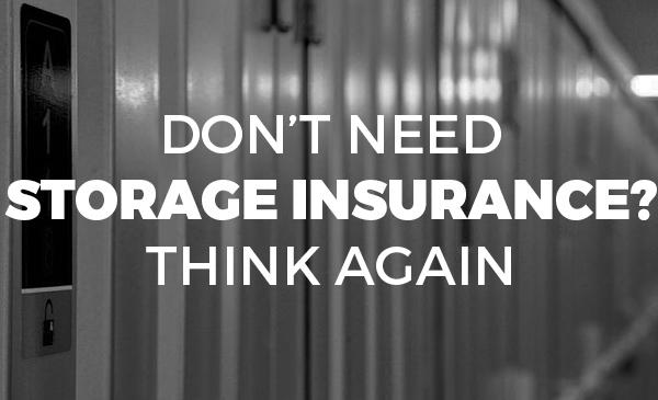 storage insurance, storage unit