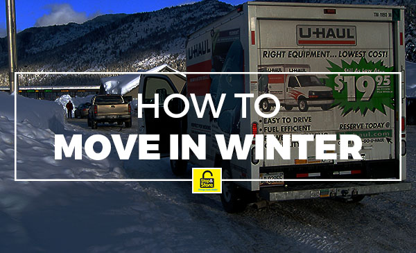 move in winter, how to, tips, truck