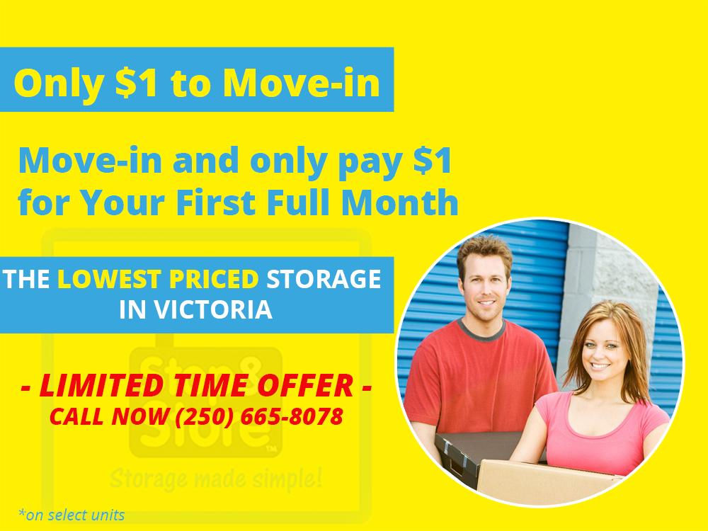 cheap storage, storage deal, victoria bc