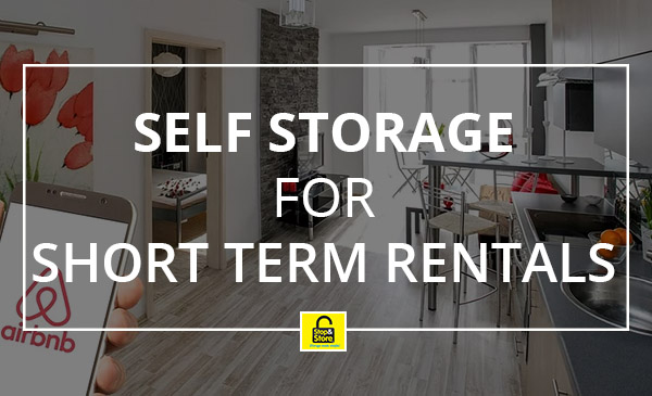 short term rentals, apartment, storage