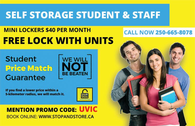 student storage, victoria, deals