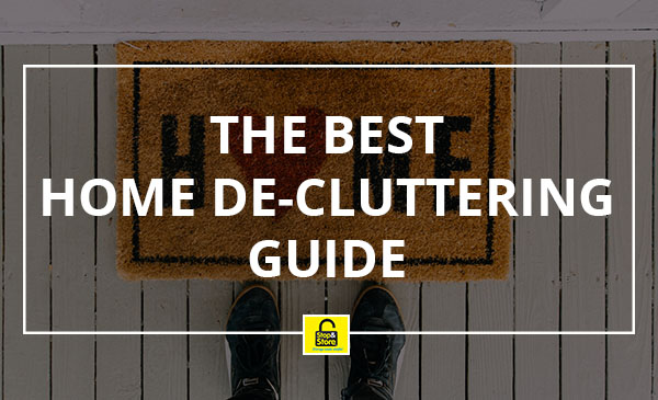 home, de-cluttering, guide, tips