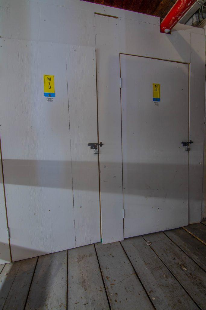 storage doors, interior