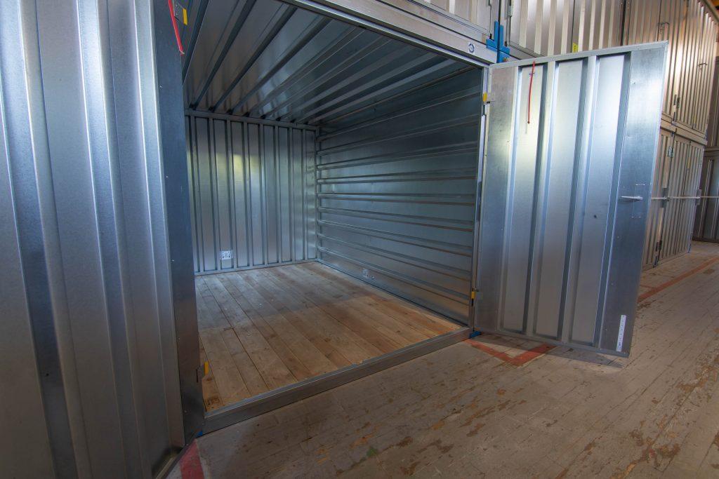 storage unit, front, doors