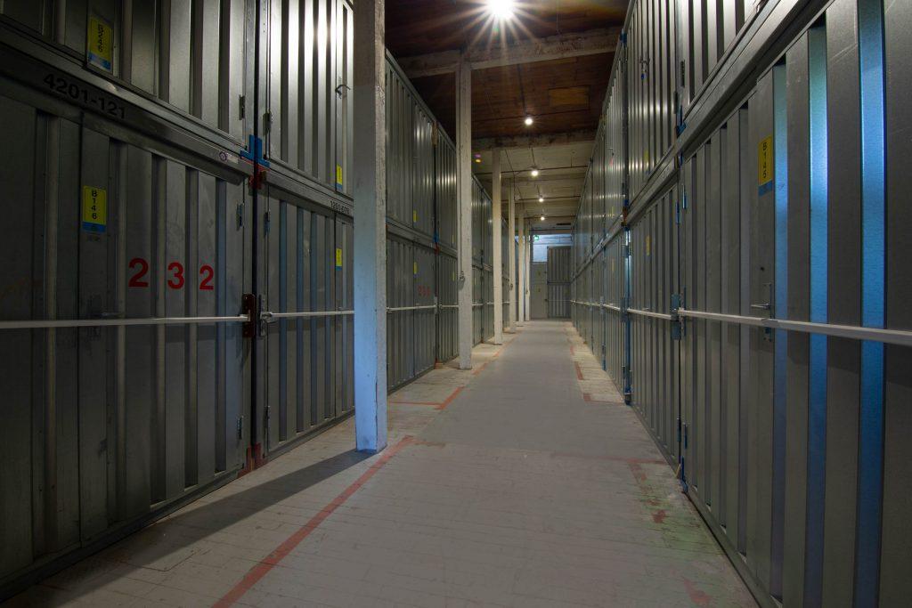 hallway, victoria, storage units