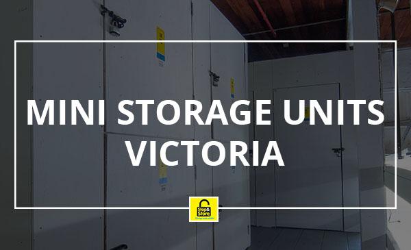 mini storage units, victoria