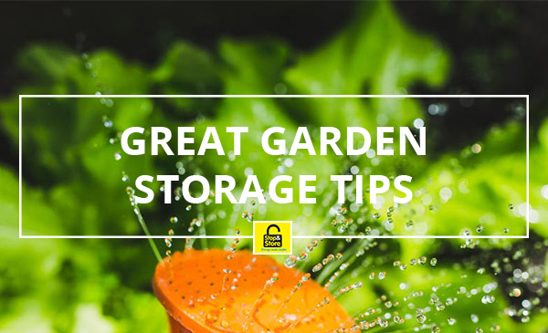 garden storage, tips, summer